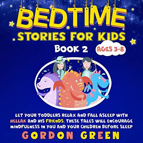 Bedtime Stories for Kids Book 2 audiobook cover art