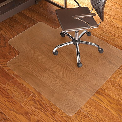 ES Robbins EverLife 45-Inch by 53-Inch Multitask Series Hard Floor with Lip Vinyl Chair Mat,...