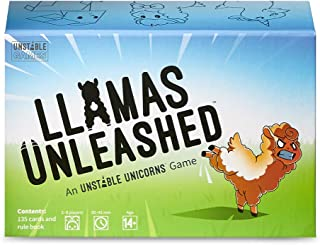 Llamas Unleashed Base Game - from The Creators of Unstable Unicorns - A Strategic Card Game & Party Game for Adults & Teens