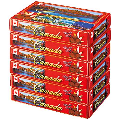 カナダ 土産 カナダ チョコトリュフ 6箱セット (海外旅行 カナダ お土産)