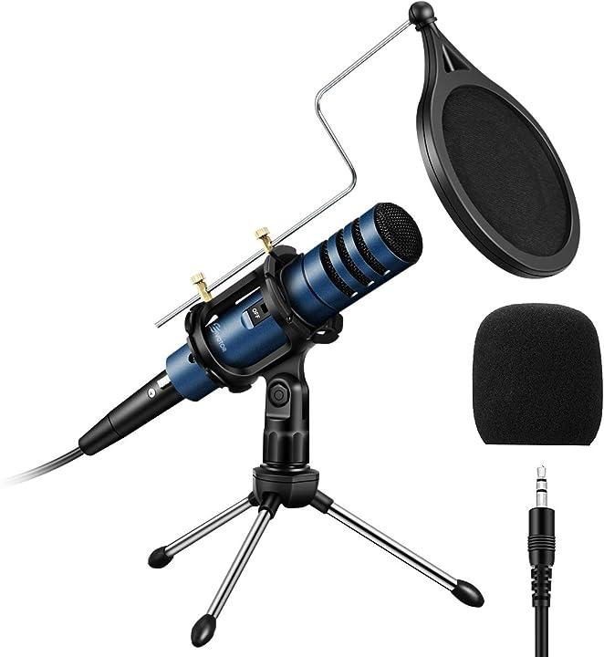 Microfono per pc a condensatore per telefono cellulare registrazione del microfono eivotor B08DFCGB2D