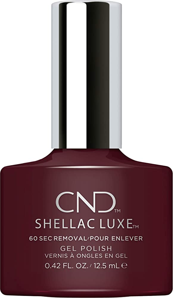 つぶやき周辺勝利CND Shellac Luxe - Black Cherry - 12.5 ml / 0.42 oz