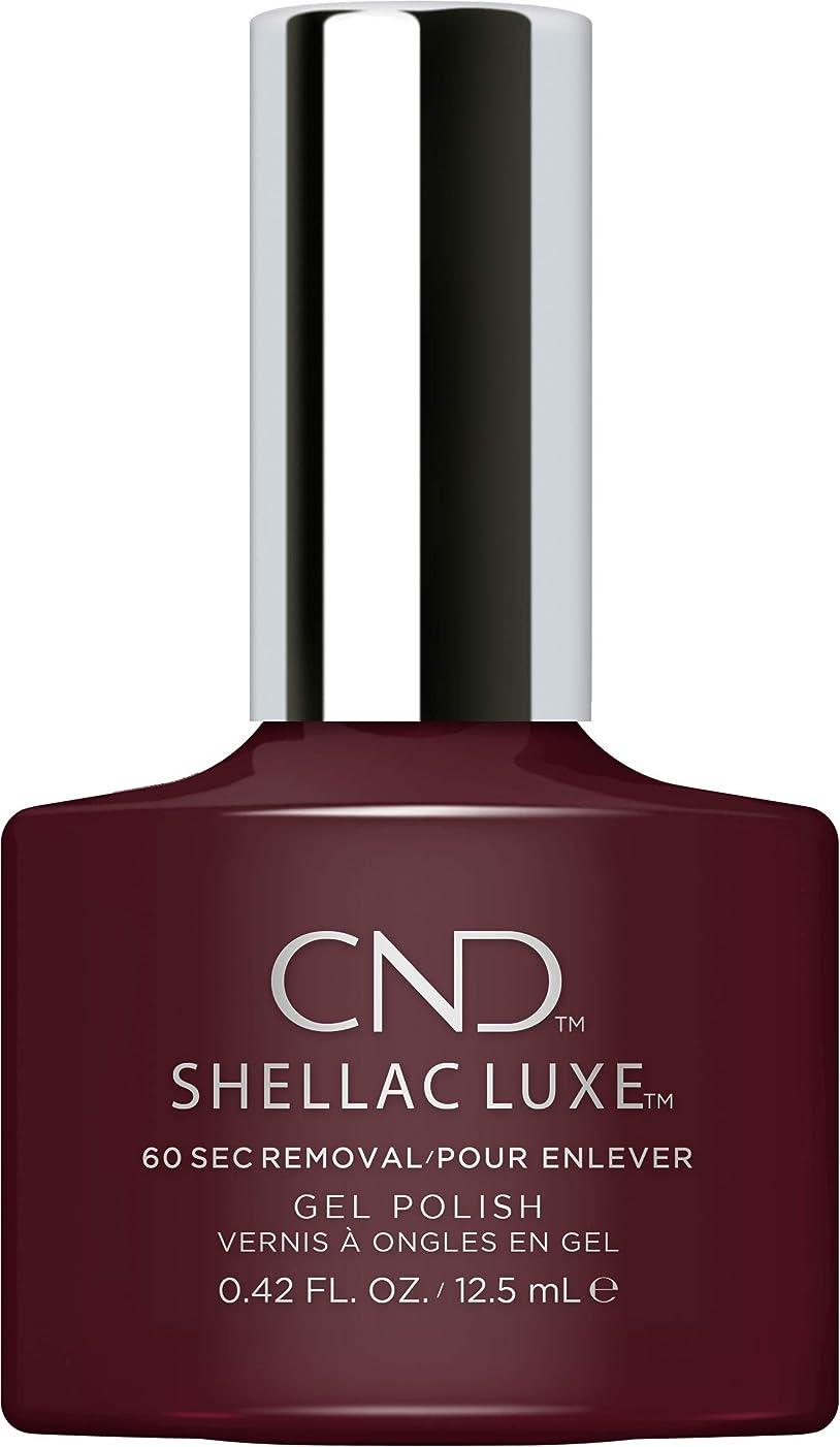 奨学金可動パーツCND Shellac Luxe - Black Cherry - 12.5 ml / 0.42 oz