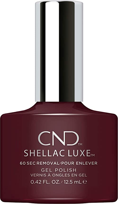 白菜変更可能いまCND Shellac Luxe - Black Cherry - 12.5 ml / 0.42 oz