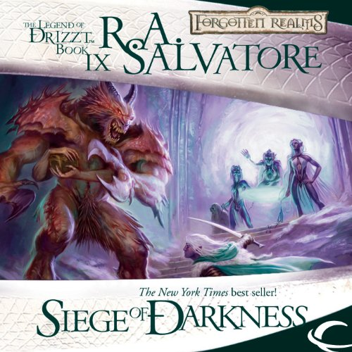 Siege of Darkness audiobook cover art