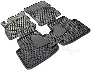 Fully Tailored Rubber/Set of 5 Car Floor Mats Carpet for Skoda Superb (3rd gen) 2016—2020