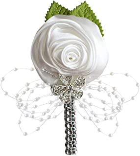 Flyme Wedding Bouquet Vintage Wedding Decoration Bride Flowers Brooch Bride Bridesmaid Wedding Decoration