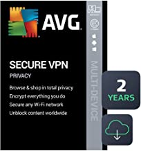 AVG Secure VPN 2021 | 5 Devices, 2 Years [PC/Mac/Mobile...