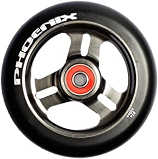 New 2014 Phoenix 3 Spoke F-1 Metal Core Wheel 110mm GUN METAL