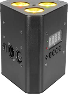 CHAUVET DJ EZwedge Tri Battery-Operated Tri-Color LED Wash Light w/Infared Remote Control