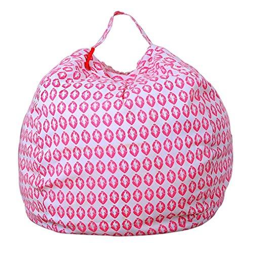 Sedia Tessuto animale animali di peluche Conservazione Borsa di stoccaggio pouf bambini Soft Pouch plastica