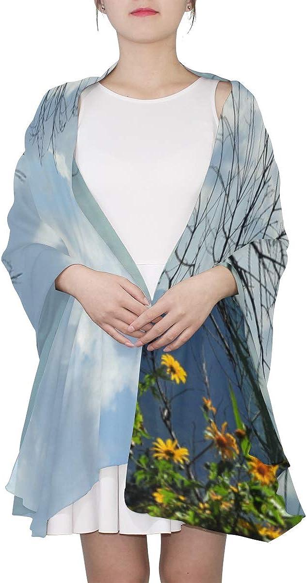 Elegant Scarf Beautiful Photography Idyllic Landscape Fashion Scarf Lightweight New Scarf Lightweight Print Scarves Man Head Scarf Shawls And Wraps For Wedding Dresses