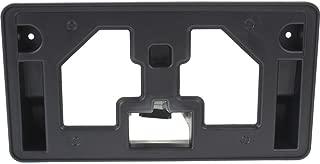 New Front Bumper License Plate Mounting Bracket Holder Plastic Black for 2013-2015 Honda Accord Sedan HO1068113 71145T2AA00