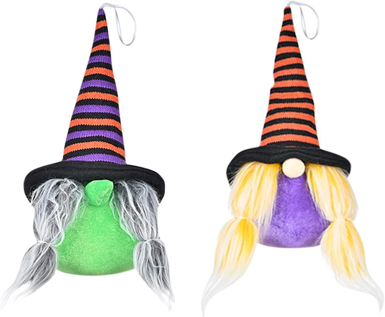 CKK 2Pcs Set Hallowen Gnomes Plush Doll Free shipping on posting reviews Lighted Faceless Decor G Sale price