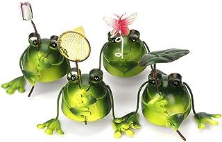 Frog Garden Decor Metal Frog Art for Office, Desktop, Home, Garden Decoration