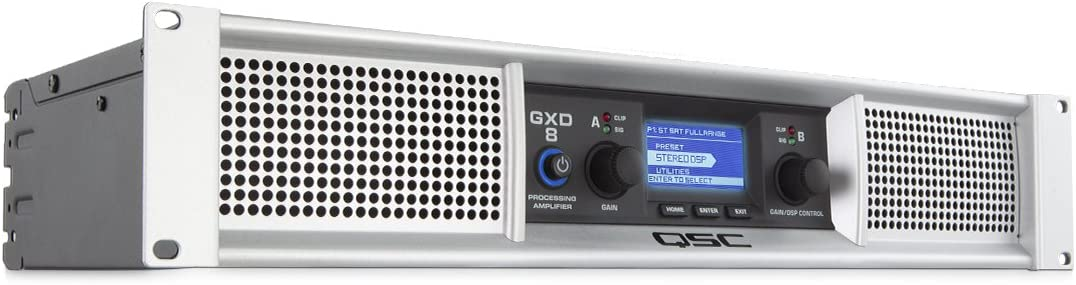 QSC GXD4 Class D Power Amplifier with DSP