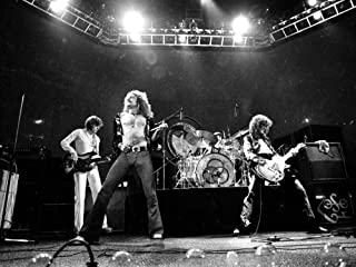 photo Led Zeppelin Robert Plant Jimmy Page John Boneham 8 x 10 Glossy Picture Image #1