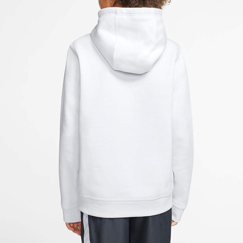 Nike Boys' Sportswear Hbr Club Fleece Hoodie Cj7861-086