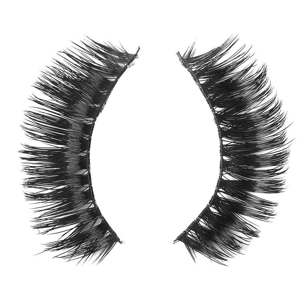 女の子全員直面するミンクの毛の自然な厚くなる化粧品の3D版のための一組のまつげ