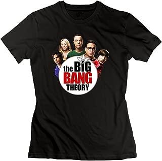 Jiaso Women's The Big Bang Theory TBBT Logo T-Shirt