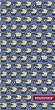 Textil Tarragó Kukuxumusu Toalla de Playa, Algodón, Azul, 150x75 cm