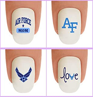air force nail stickers