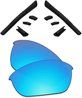 Premium Polarized Replacement Lenses & Rubber Kits Compatible with Oakley Half Jacket Sunglass