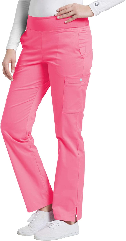 White Cross Allure Women's Popular 55% OFF overseas 351 Pant-Pink Yoga Scrub Inspired Coc