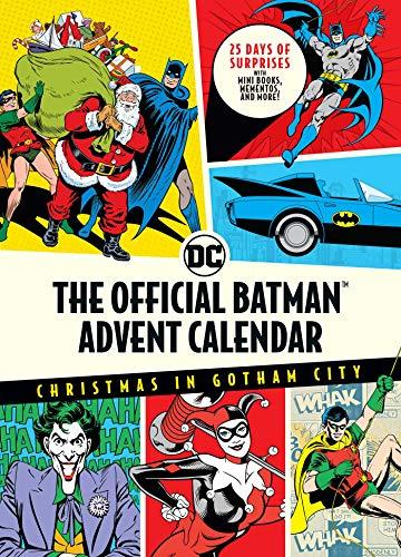 The Official Batman™ Advent Calendar: Christmas in Gotham City: 25 Days of Surprises with Mini Books, Mementos, and More! (Batman Books, Fun Holiday Advent Calendar, Super Hero)