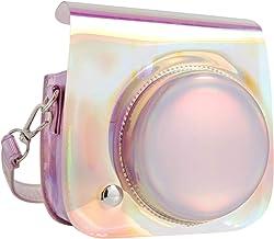 QUEEN3C Aurora Bright Mini 9 Camera Case Bag with Adjustable Strap for Fujifilm Instax Mini 9 Mini 8 Mini 8+ Instant Camera. (Aurora Bright)