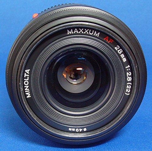 Minolta Maxxum Dynax AF 28mm F2.8 lens fits all Minolta Maxxum/Dynax AF SLR/DLR...