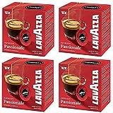 Lavazza A Modo Mio Espresso Passionale 16 Cápsulas de Cafetera (Paquete de 4)