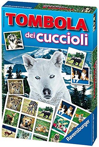 Ravensburger Italy- Rav Gioco Tombola dei Cuccioli 21978, Multicolore, 878151