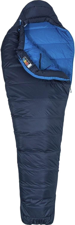 Marmot Ultra Elite 20 Kunstfaserschlafsack (Herren bis -5,3°C max. Liegelänge 183 cm Gewicht 0,9kg) B07F1XGS8V  Nutzen Sie Materialien voll aus