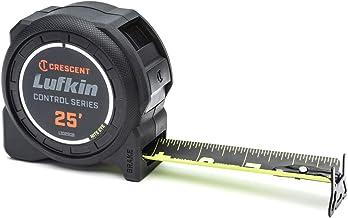 Crescent Lufkin 1-3/16 x 25' Command Control Series Black Clad Tape Measure - L1025CB