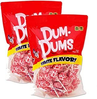 Dum Dums Cherry 2-1 lb bags