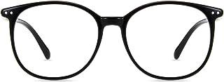 عینک خواندن شیشه ضد آبی که باعث بلوک نور می شود ، برای زنان دارای چهره میانی بزرگ است