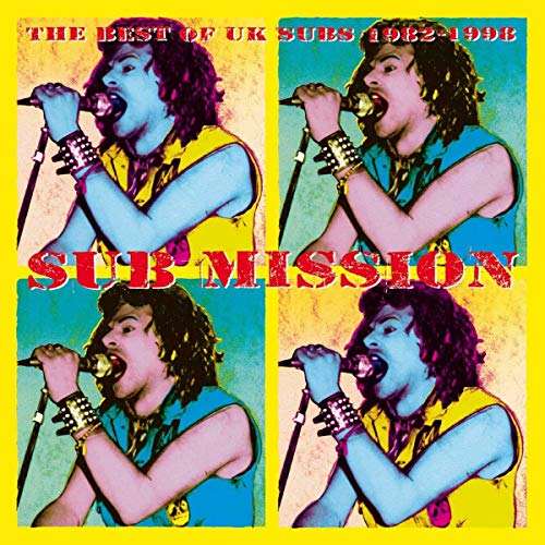 Sub Mission: The Best Of UK Subs 1982-1998 (Yellow & Blue Vinyl) [Vinilo]