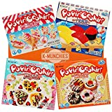 K-Munchies Kracie Popin Cookin Kits - 4 Pack Assorted...