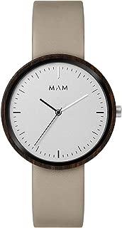 MAM Mens Plano Watch - Cream/White