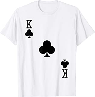 King of Clubs Costume T-Shirt Halloween Deck of Cards