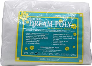 Quilters Dream Request White Poly Throw Batting