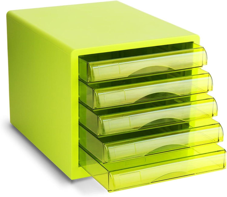 WAOBE Desktop Desktop Desktop Aktenschrank - A4 Kunststoff Schublade Datenspeicherschrank Home Office Desktop-Datei Aufbewahrungsbox, Ideal Für Die Einreichung Und Organisation Von Papierdokumenten B07CPXNZJR | Förderung  eb73e6