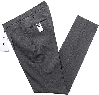PT TORINO ピーティートリノ / 【国内正規品】 / 20-21AW!テクノウォッシャブルウールサージ1プリーツパンツ「TRAVEL(EVO FIT)」 (ミディアムグレー) メンズ