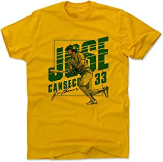 500 LEVEL Jose Canseco Shirt - Vintage Oakland Baseball Men's Apparel - Jose Canseco Classic