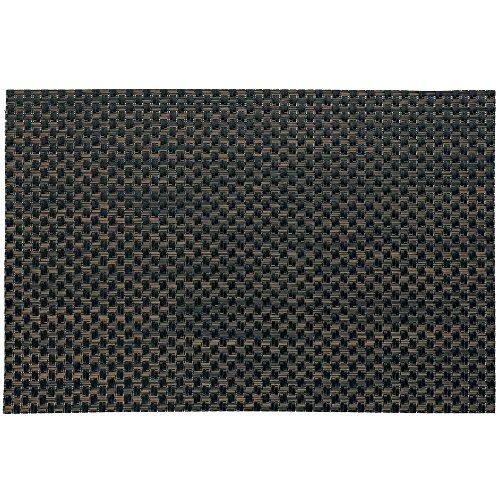 Kela 15638 Plato Set de table PVC/Polyester Brun Clair/Noir 45 x 30 x 1 cm