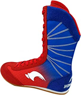 Day Key High Top Boxing Shoes for Men Women Kids, Breathable Boxer Boots