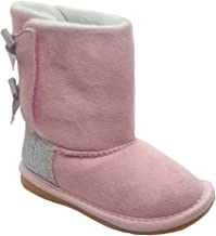 Giovanna Winter Bow Boot in Pink