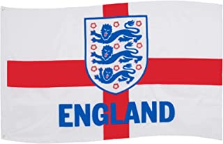 England FA Flag 5x3ft 3 Lions St.George Cross OFFICIAL Football Gift