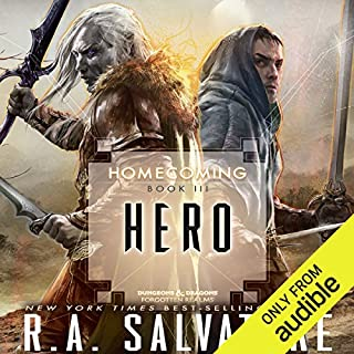 Hero audiobook cover art